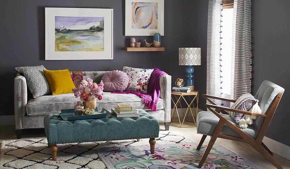 رنگ مبلمان منزل