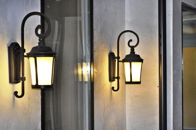 چراغ دیواری،نورپردازی