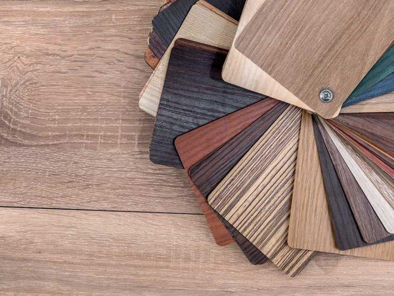 انواع روکش چوب